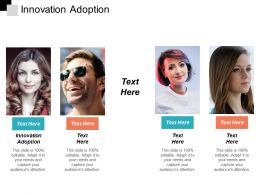 Innovation Adoption Ppt Powerpoint Presentation Infographic Template Infographics Cpb
