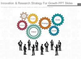 Innovation And Research Strategy For Growth Ppt Slides