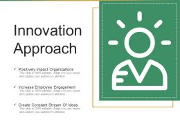 Innovation Approach Ppt Summary Ppt Templates