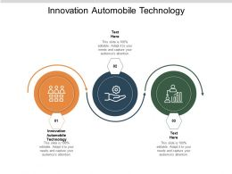 Innovation Automobile Technology Ppt Powerpoint Presentation Outline Gridlines Cpb