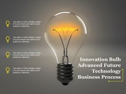 Innovation Bulb Advanced Future Technology Business Process
