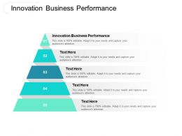 Innovation Business Performance Ppt Powerpoint Presentation Styles Gridlines Cpb