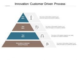 Innovation Customer Driven Process Ppt Powerpoint Presentation Styles Graphics Design Cpb