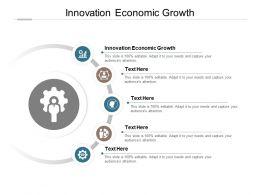 Innovation Economic Growth Ppt Powerpoint Presentation Summary Demonstration Cpb