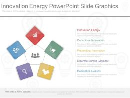 Innovation Energy Powerpoint Slide Graphics