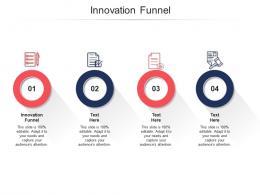 Innovation Funnel Ppt Powerpoint Presentation Icon Portfolio Cpb