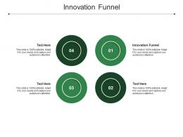 Innovation Funnel Ppt Powerpoint Presentation Ideas Skills Cpb