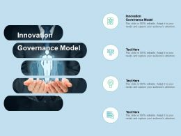 Innovation Governance Model Ppt Powerpoint Presentation Professional Design Templates Cpb