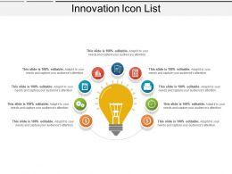 86732558 Style Variety 3 Idea-Bulb 9 Piece Powerpoint Presentation Diagram Infographic Slide