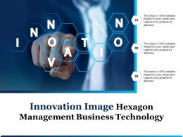 Innovation Image Hexagon Management Business Technology