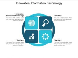 Innovation Information Technology Ppt Powerpoint Presentation Layouts Backgrounds Cpb
