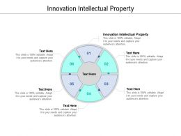 Innovation Intellectual Property Ppt Powerpoint Presentation Inspiration Cpb