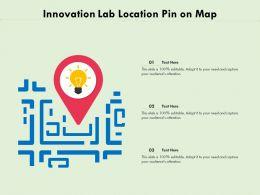 Innovation Lab Location Pin On Map