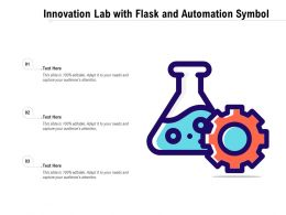 Innovation Lab With Flask And Automation Symbol