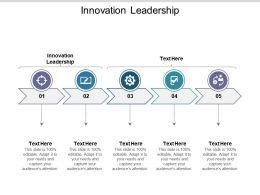 Innovation Leadership Ppt Powerpoint Presentation File Designs Download Cpb