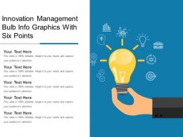 Innovation Management Bulb Info Graphics