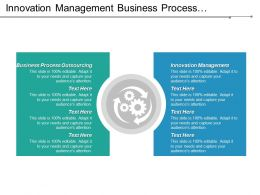 Innovation Management Business Process Outsourcing Financial Services Internet Things Cpb