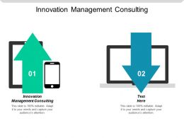 Innovation Management Consulting Ppt Powerpoint Presentation Gallery Sample Cpb