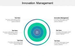Innovation Management Ppt Powerpoint Presentation Summary Example Introduction Cpb