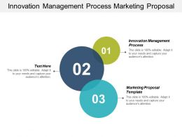 Innovation Management Process Marketing Proposal Template Customer Management Cpb