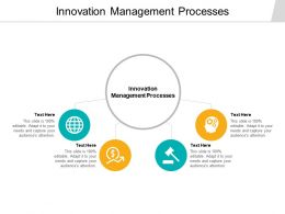 Innovation Management Processes Ppt Powerpoint Presentation Ideas Cpb