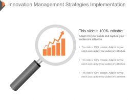 Innovation Management Strategies Implementation Ppt Slide