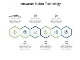 Innovation Mobile Technology Ppt Powerpoint Presentation Graphic Images Cpb