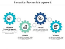 Innovation Process Management Ppt Powerpoint Presentation Infographics Design Templates Cpb