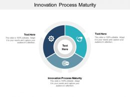 Innovation Process Maturity Ppt Powerpoint Presentation Outline Pictures Cpb