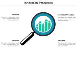 Innovation Processes Ppt Powerpoint Presentation Ideas Designs Download Cpb