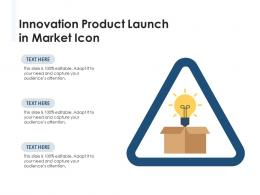 Innovation Product Launch In Market Icon