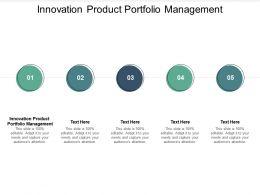Innovation Product Portfolio Management Ppt Powerpoint Presentation Graphics Cpb