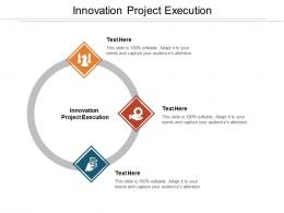 Innovation Project Execution Ppt Powerpoint Presentation Visual Aids Diagrams Cpb