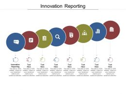 Innovation Reporting Ppt Powerpoint Presentation Summary Graphics Design Cpb