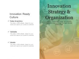 Innovation Strategy And Organization Presentation Backgrounds
