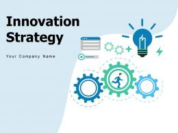 Innovation Strategy Framework Light Bulb Connections Formulation Success Approaches