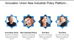 Innovation Union New Industrial Policy Platform Against Poverty