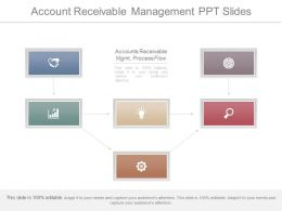 Innovative Account Receivable Management Ppt Slides