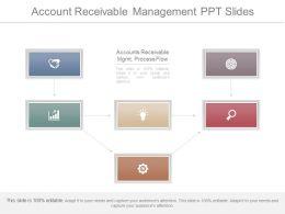 Innovative Account Receivable Management Ppt Slides