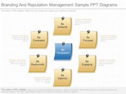 Innovative Branding And Reputation Management Sample Ppt Diagrams