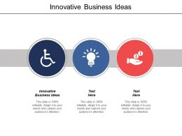 Innovative Business Ideas Ppt Powerpoint Presentation File Good Cpb