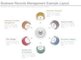 Innovative Business Records Management Example Layout