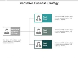 Innovative Business Strategy Ppt Powerpoint Presentation Inspiration Guidelines Cpb