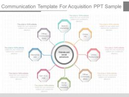 Innovative Communication Template For Acquisition Ppt Sample
