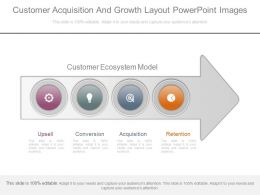 Innovative Customer Acquisition And Growth Layout Powerpoint Images
