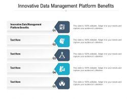 Innovative Data Management Platform Benefits Ppt Powerpoint Presentation File Display Cpb