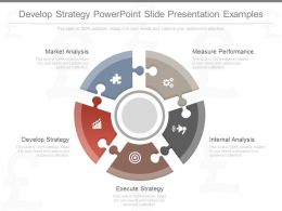Innovative Develop Strategy Powerpoint Slide Presentation Examples