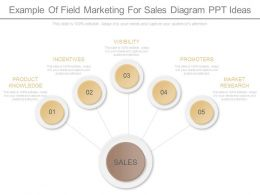 Innovative Example Of Field Marketing For Sales Diagram Ppt Ideas