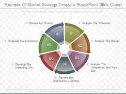 Innovative Example Of Market Strategy Template Powerpoint Slide Clipart