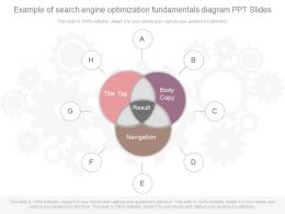 Innovative Example Of Search Engine Optimization Fundamentals Diagram Ppt Slides
